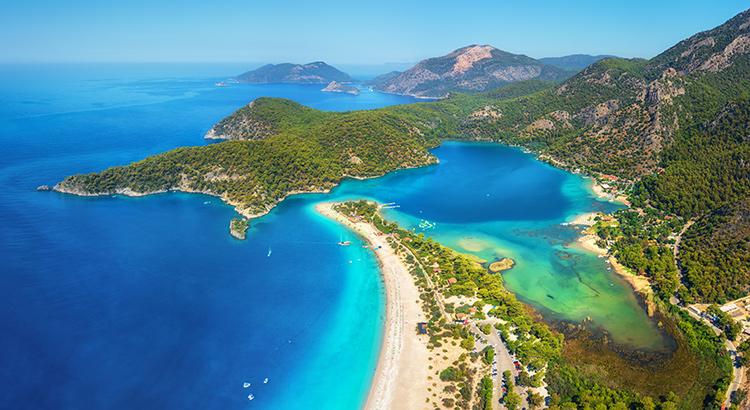 Mooiste stranden Turkije
