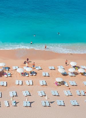 Mooiste stranden Turkije: Kaputas Beach