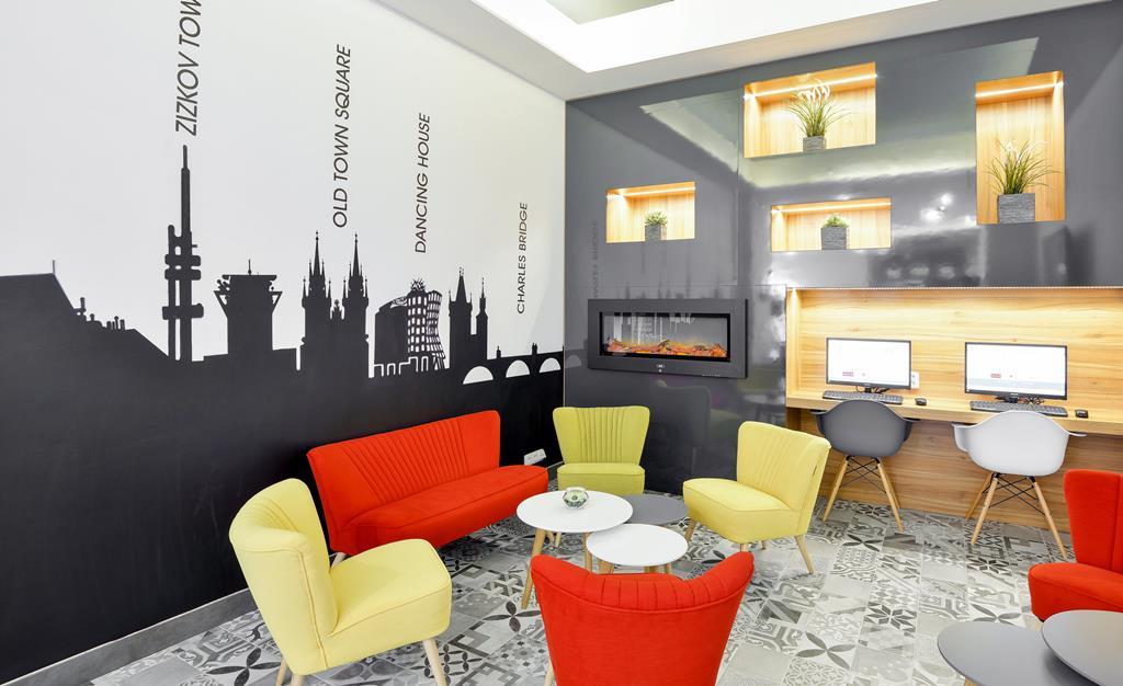 Wijken Praag: Hotel Garden Court