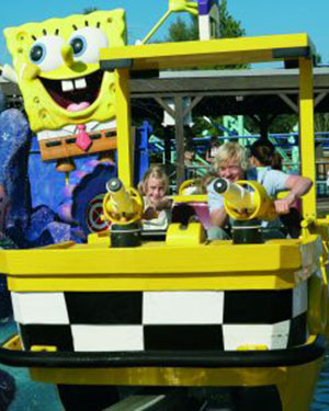 Pretparken in Duitsland: Movie Park Germany: Spongebob Splash