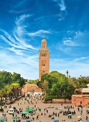 Zonnige stedentrips najaar: Marrakech