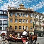 Steden of minder dan 2 uur vliegen: Praag, Hotel Rott