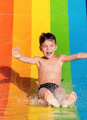 Albufeira met kinderen, waterpark