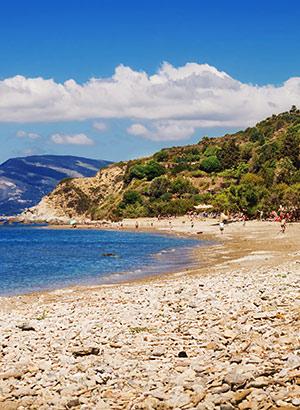 Mooiste stranden Zakynthos: Dafni Beach