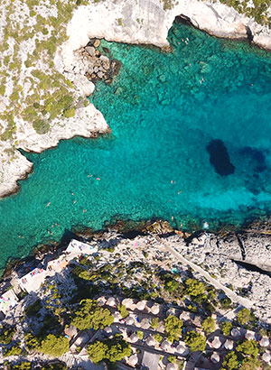 Mooiste stranden Zakynthos: Porto Limnionas Beach