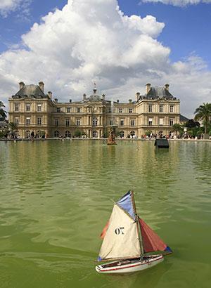 Stedentrip parijs: Jardin Luxembourg