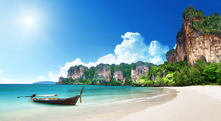 Strandvakantie Thailand: Railay Beach