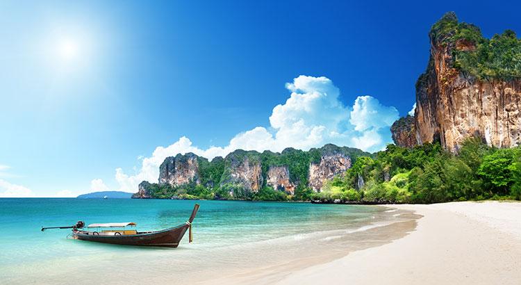 Strandvakantie Thailand: bounty stranden waar je u tegen zegt