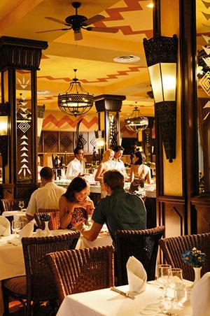 riu hotels op kaapverdië: restaurant in Clubhotel Riu Funana