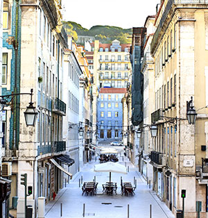 wijken Lissabon: barrio baixa