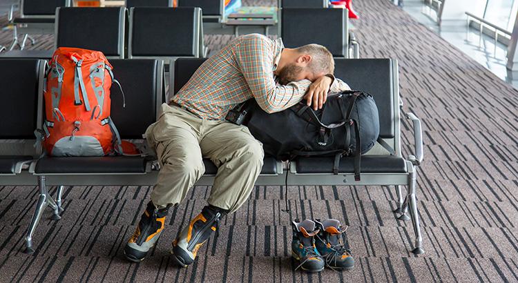 Tips om fit te blijven tijdens je vlucht