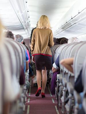 Blijf fit tijdens je vlucht