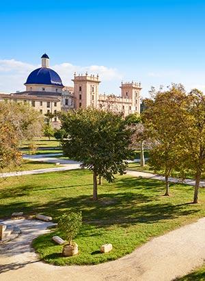 Herfst in Valencia: Turia