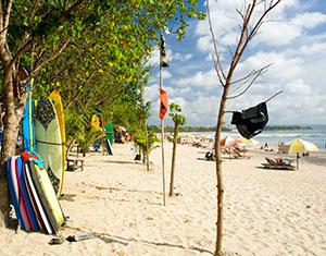 mooiste stranden bali: Kuta Beach