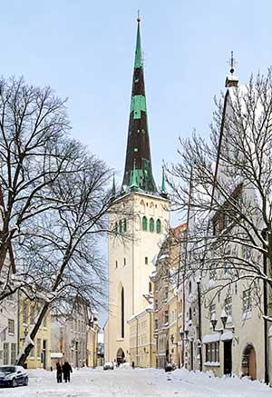 Stedentrip Tallinn: St. Olav's kerk