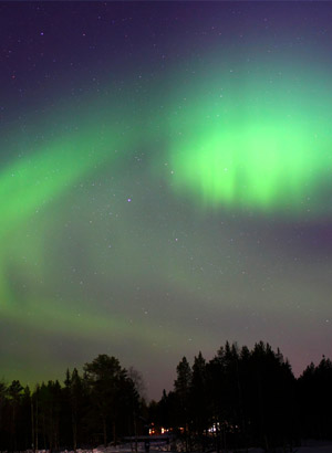Wintervakantie Lapland: Noorderlicht