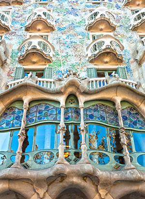 Antoni Gaudi, Barcelona: gebouwen