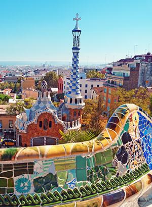 Antoni Gaudí Barcelona: Parc Guell