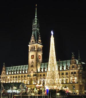 Kerstmarkt Hamburg: Petri Kerk