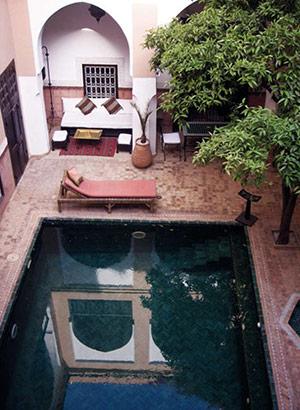 Riads in Marrakech: drie sterren