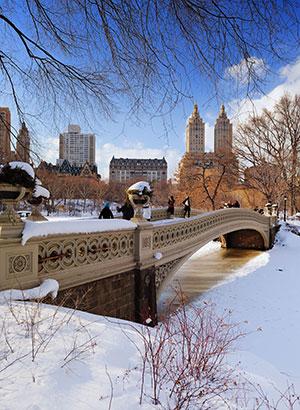 Winterse steden New York