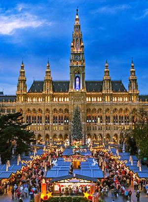 Winterse steden Wenen