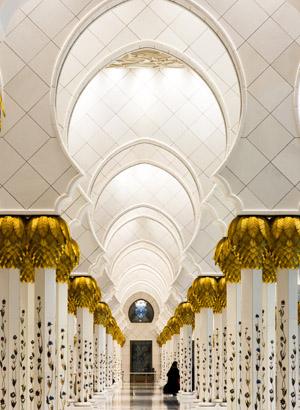 bezienswaardigheden abu dhabi: Sheikh Zayed Mosque
