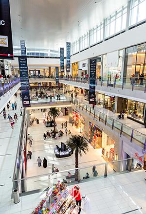 Beste winkelsteden ter wereld: Dubai
