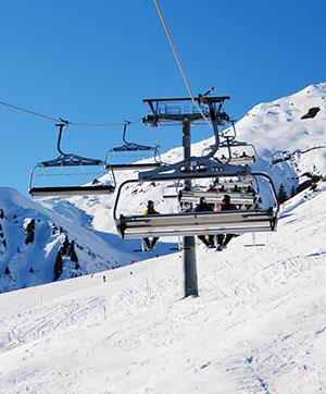 Populaire wintersportbestemmingen