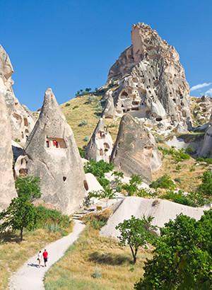 Excursies in Turkije; Cappadocië