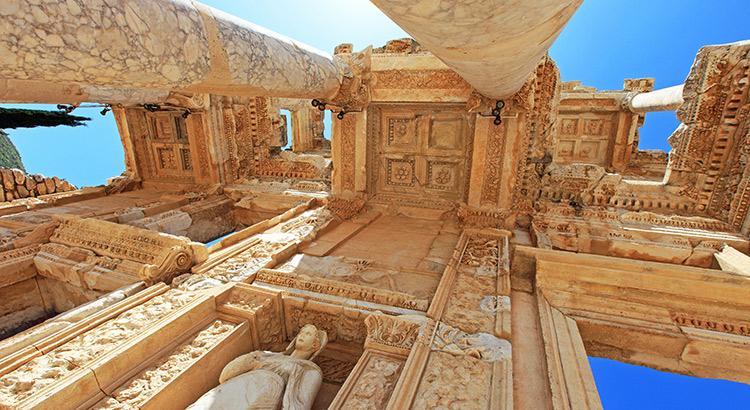 Excursies in Turkije: Efeze