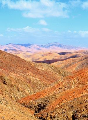 Fuertventura landschap