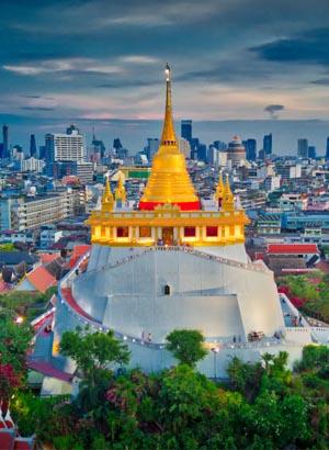 Tempels Bangkok: Wat Saket