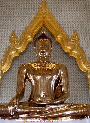 Tempels Bangkok: Wat Traimit