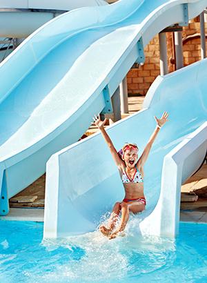 Algarve met kinderen, waterparken