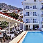 Alternatieve zonbestemmingen: Kas, Hotel Linda Beach