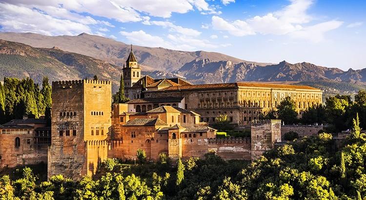 Minder bekende Spaanse steden; Granada, Alhambra