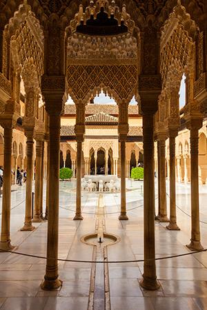 Minder bekende Spaanse steden: Granada, Alhambra