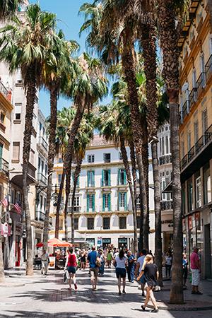 Minder bekende Spaanse steden, Málaga