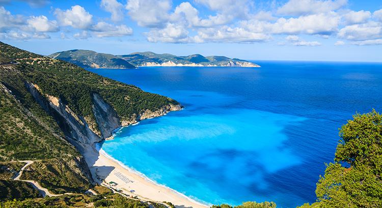 Mooiste stranden van Griekenland, Myrtos Beach