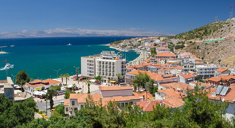 Vakantie in Cesme, Turkije