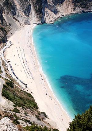 Vakantie Kefalonia: Myrtos Beach