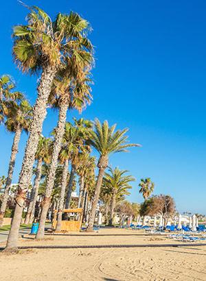 Veelzijdig Paphos: strand