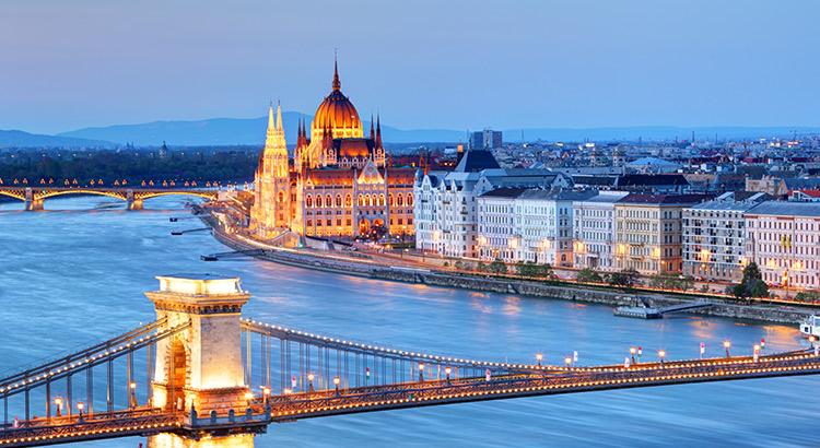 Verrassende romantische steden: Boedapest