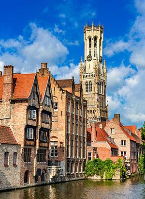 Verrassende romantische steden: Brugge
