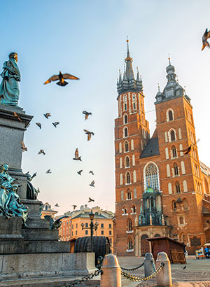 Verrassende romantische steden: Krakau