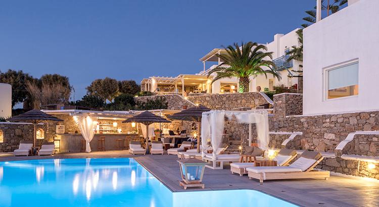 leukste boutique hotels in griekenland vakantiediscounter. Black Bedroom Furniture Sets. Home Design Ideas