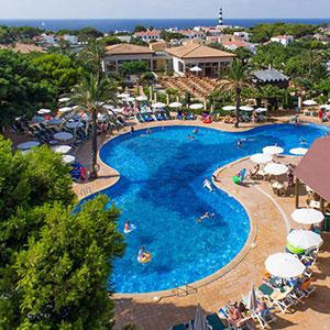 Familievriendelijk Menorca; hotels in Cala'n Bosch