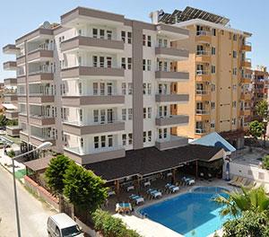 Goedkope vakantie Turkije: Kleopatra South Beach