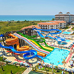 Familievakantie in Turkije: Eftalia Aqua Resort, Alanya